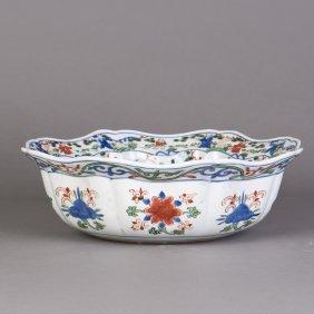 A Chinese Wucai Porcelain Bowl
