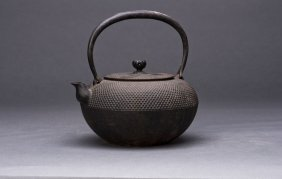 Japanese Casting Iron Teapot