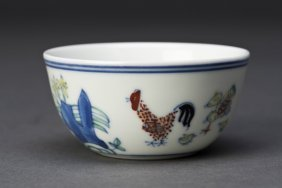 Bucket Color Porcelain Cup