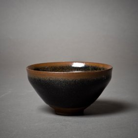 A Chinese Black -glazed Bowl