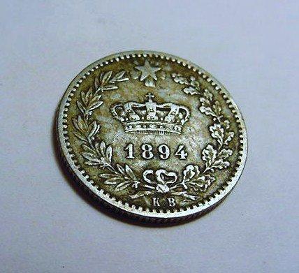 1894 ITALY 20 CENTESIMI