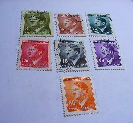 WWII GERMAN STAMP LOT