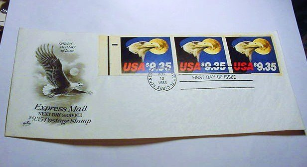 1983 EXPRESS MAIL FIRST DAY COVER