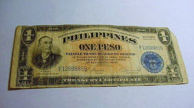 PHILIPINES VICTORY PESO BANKNOTE