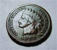 1883 INDIAN CENT