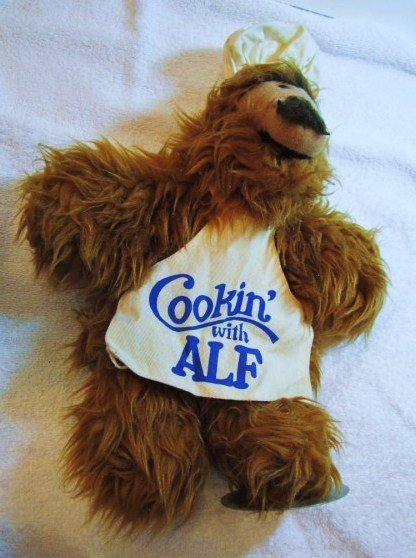 1988 COOKING WITH ALF DOLL  BY  ALIEN PRODUCTIONS - 3