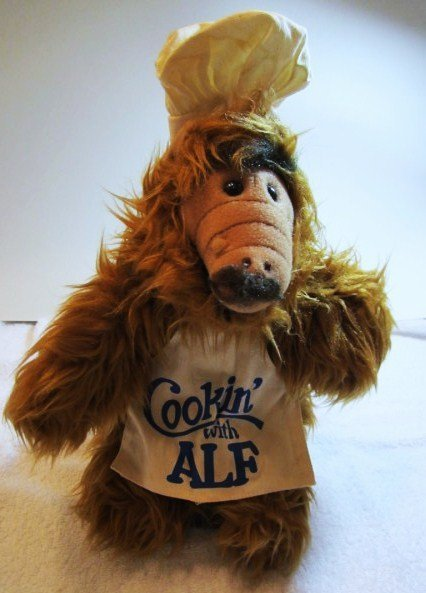 1988 COOKING WITH ALF DOLL  BY  ALIEN PRODUCTIONS - 4