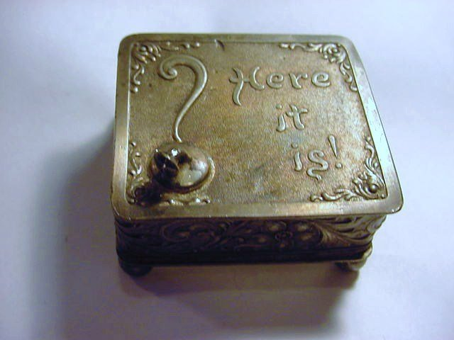 ANTIQUE COVERED BOX