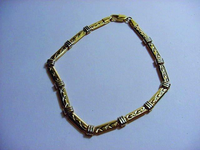VINTAGE 18K GOLD FILLED BRACELET