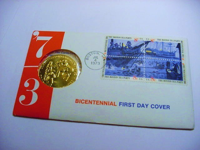 1973 BRONZE MEDAL PNC COVER