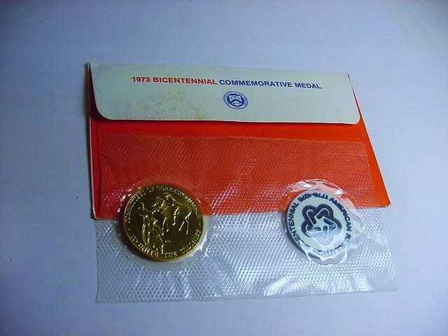 1973 BRONZE MEDAL PNC COVER - 2