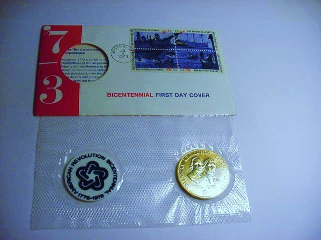 1973 BRONZE MEDAL PNC COVER - 3
