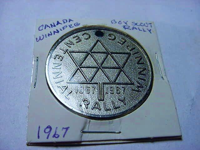1967 CANADA BOY SCOUT MEDAL