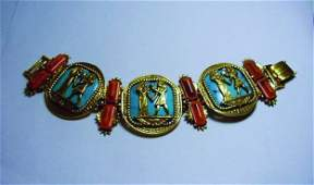 VINTAGE  EGYPTIAN DESIGN BRACELET