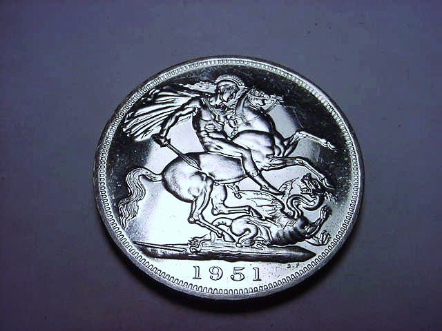 1951 BRITISH CROWN PROOF CONDITION