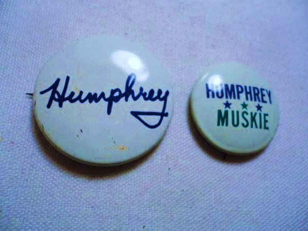 [2] HUMPHREY CAMPAIGN BUTTONS