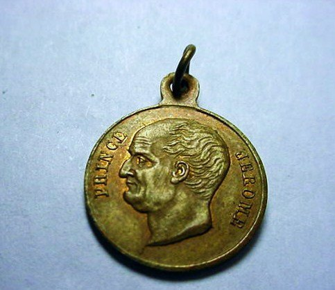 1860 PRINCE JEROME DEATH MEDAL
