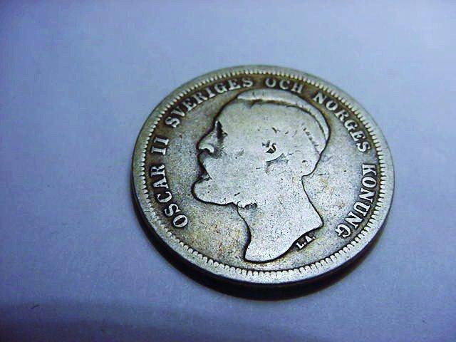 1883 SWEDEN 1 KRONA