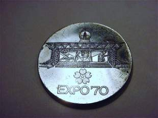 1970 JAPAN WORLD EXPO SILVER MEDAL