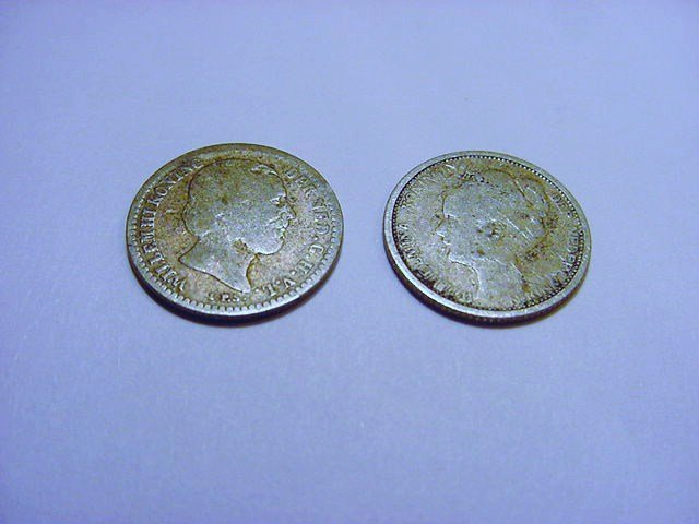 NETHERLANDS SILVER COIN LOT