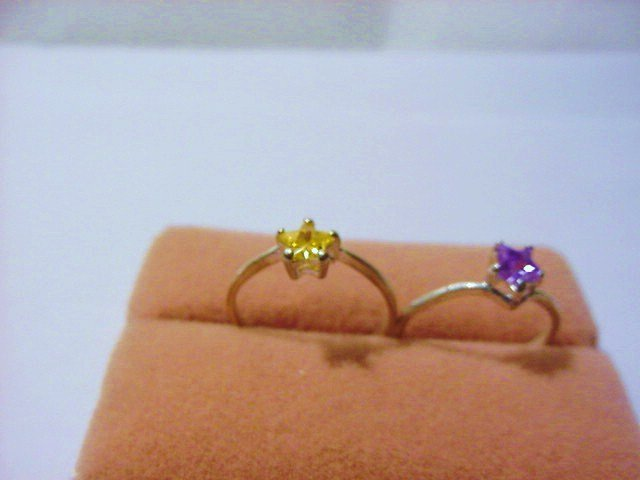 [2 ]VINTAGE  RINGS SIZE  6.5