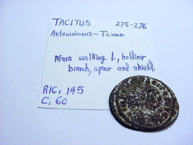 275-276 TACITUS ANCIENT ROMAN DENARIUS