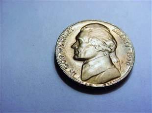 1950-D JEFFERSON NICKEL GEM B.U.