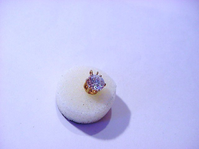 GOLD FILLED CZ PENDANT