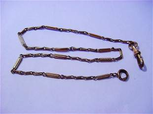 VINTAGE SIMMONS WATCH CHAIN