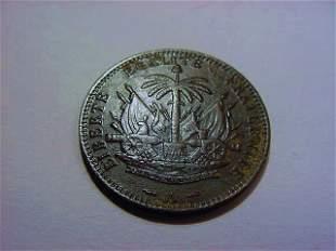 1895 HAITI 1 CENTIME