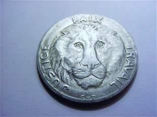 1965 CONGO 10 FRANCS