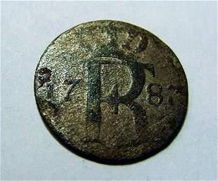 1787 GERMAN SILVER COIN