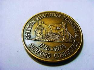1976 GUILFORD, CT MEDAL