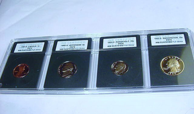 1992 PROOF 70 COIN LOT
