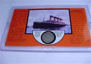 1912 LIBERTY NICKEL SS TITANIC