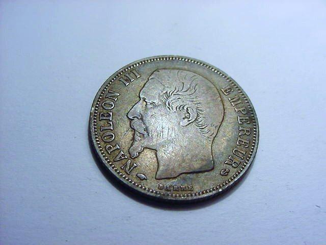 1857 A FRANCE 1 FRANC
