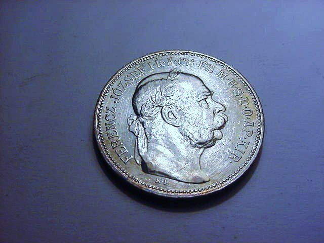 1913 HUNGARY 2 KORONAS