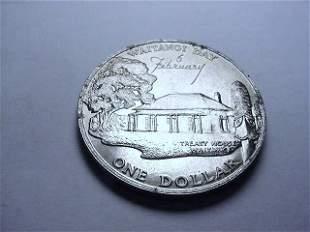1977 NEW ZEALAND ONE DOLLAR UNC