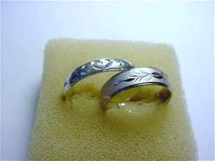 [2] VINTAGE RINGS SIZE 8.5 & SIZE 6