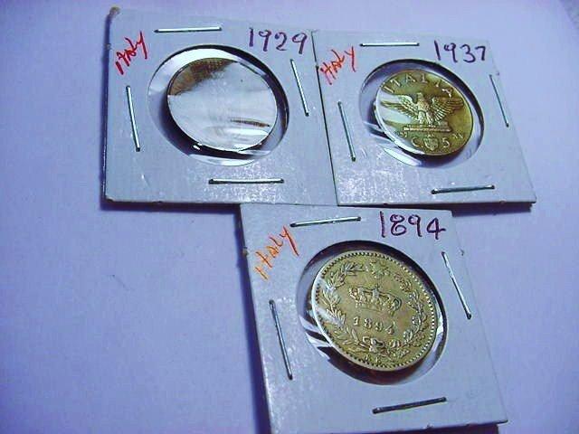 [3] EARLY ITALIAN COINS