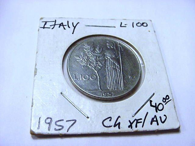 1957 ITALY 100 LIRE