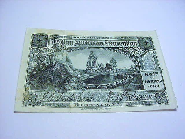 1901 PAN-AMERICAN EXPO TICKET