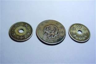 JAPAN COIN LOT