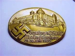 1935 NAZI GERMAN MEDAL