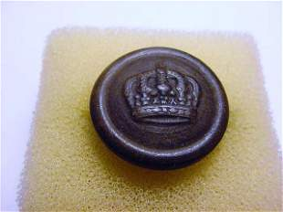 EARLY GERMAN MILITARY BUTTON