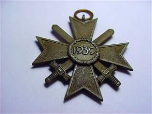1939 NAZI GERMAN WAR MERIT CROSS