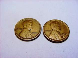[2] 1921-S LINCOLN CENTS