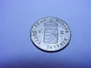 1849 HUNGARY 6 KRAJCZAR
