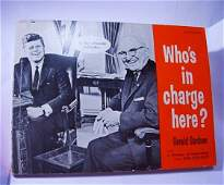 1962  WHO'S IN CHARGE? BOOK BY GERALD GARDNER