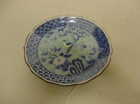3: Vintage Chinese or Japanese porcelain dish